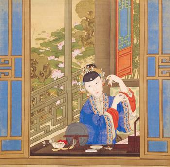 地上の天宮 北京・故宮博物院展第一部 故宮の后妃たち|第三章 美装―ファッションと美容